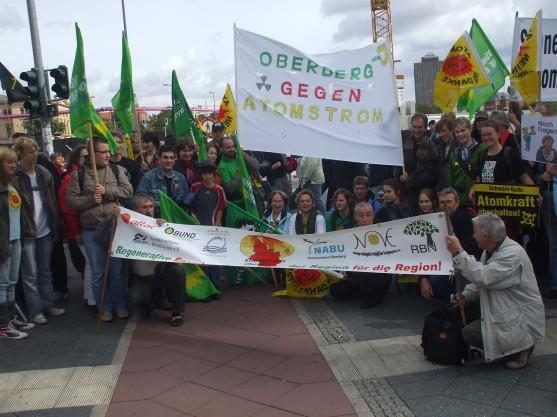 Oberberg gegen Atom Gruppenbild Berlin 19-09-10