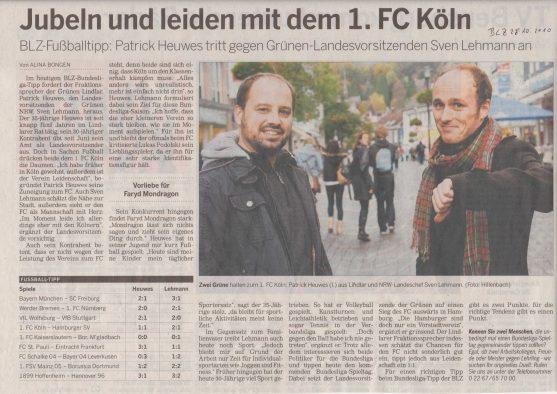 Fußballtipp Lehmann-Heuwes BLZ 28-10-10